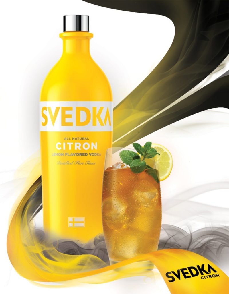 Print Design - Svedka Point Of Sale - Citron