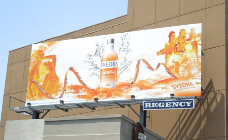 Prepress Production - Svedka Out Of Home Campaign